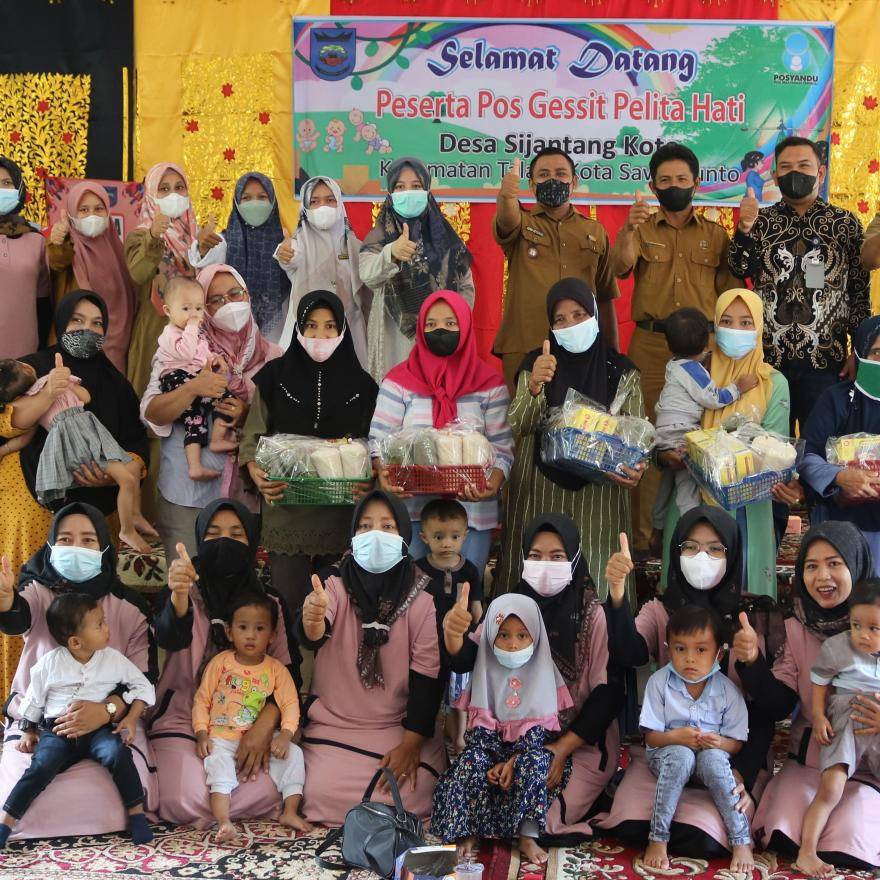 Pos Gerakan Siaga Stunting Pelita Hati Desa Sijantang Koto